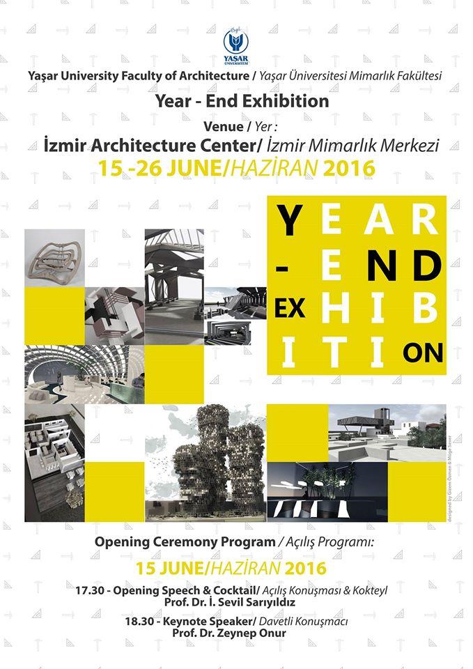 Yasar Universitesi_Mimarlık Fakultesi sergisi